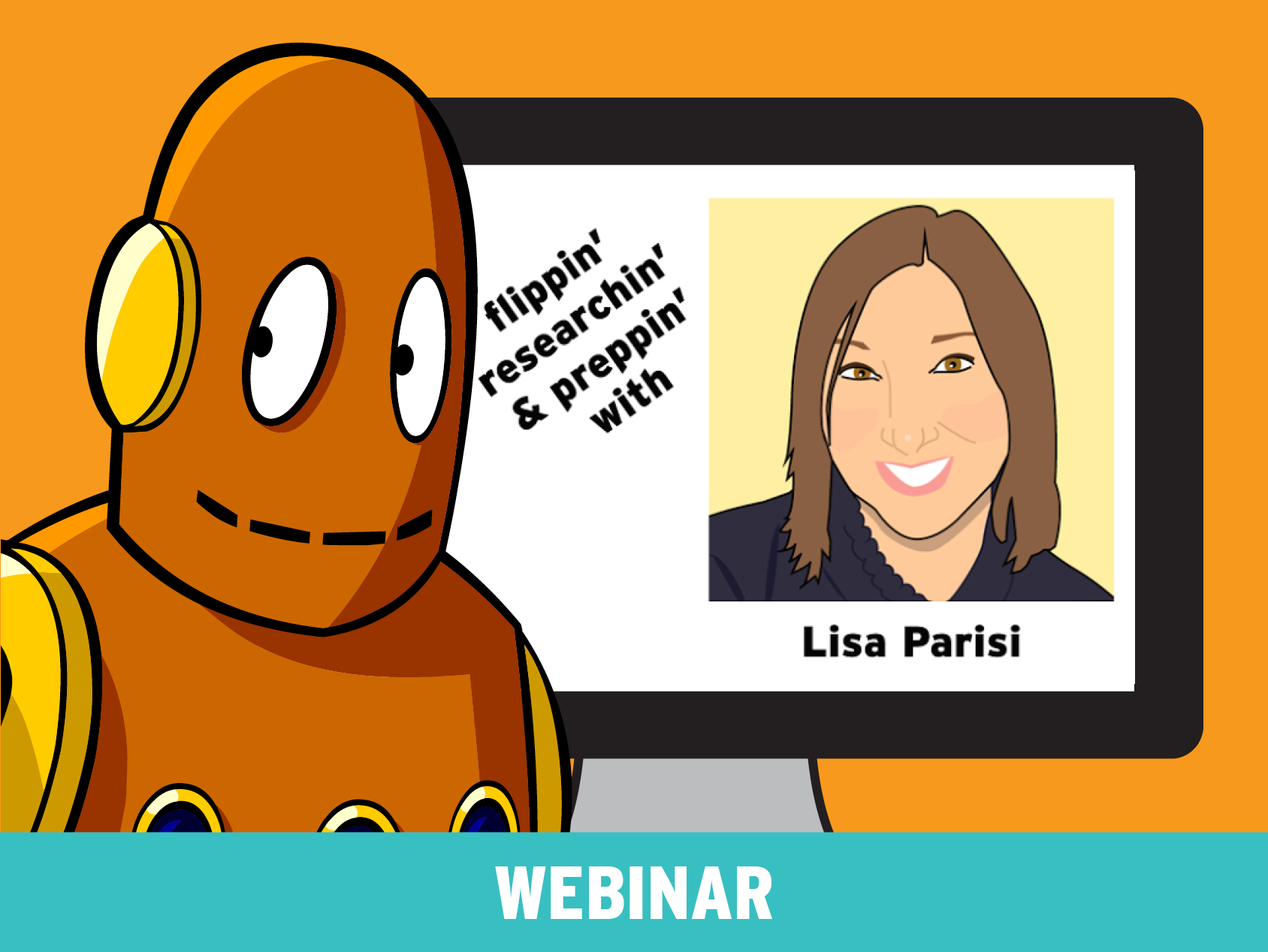 POPstar Lisa Parisi: Flippin', Researchin', and Preppin' with BrainPOP