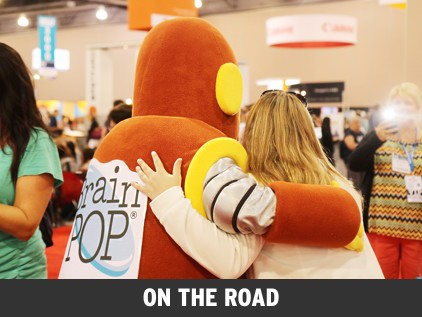 BrainPOP at ISTE2015