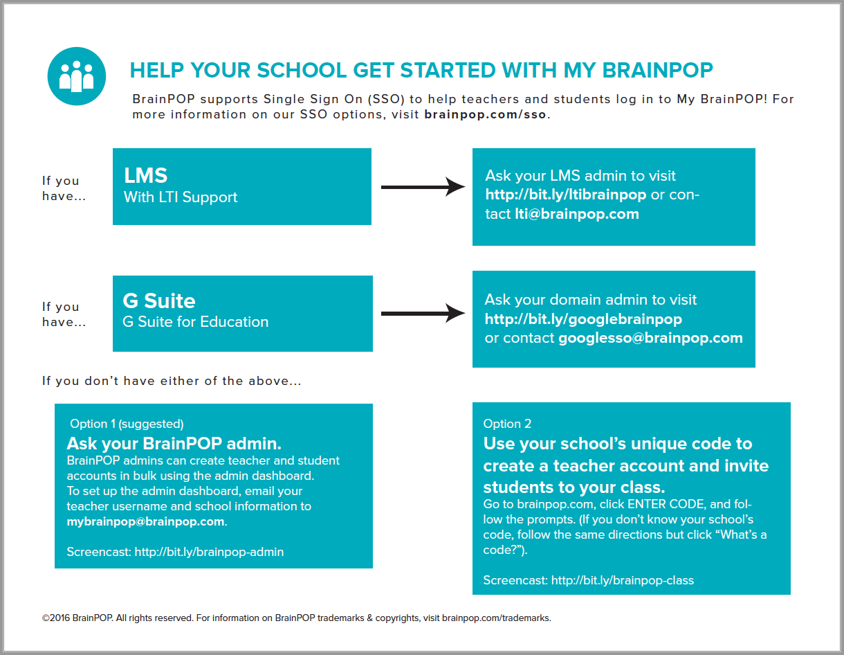 My BrainPOP Onboarding Guide