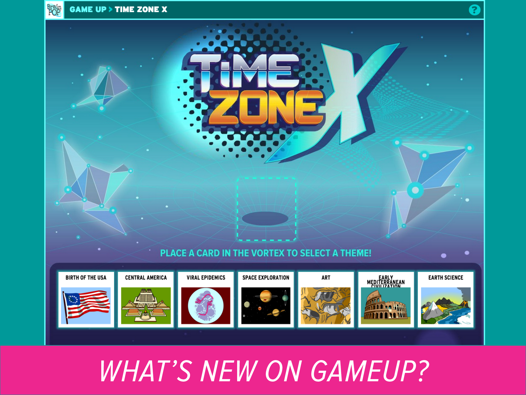 New on GameUp: Time Zone X