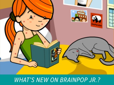 new on BrainPOP Jr
