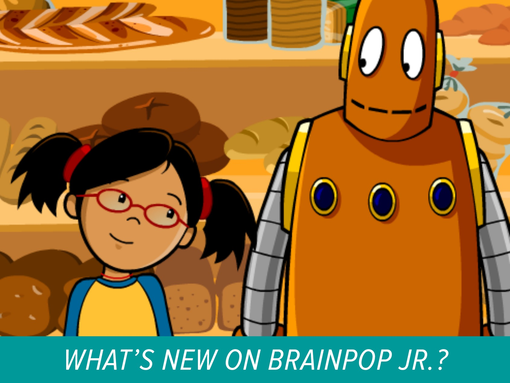 New on BrainPOP Jr: Solving Word Problems Math Movie
