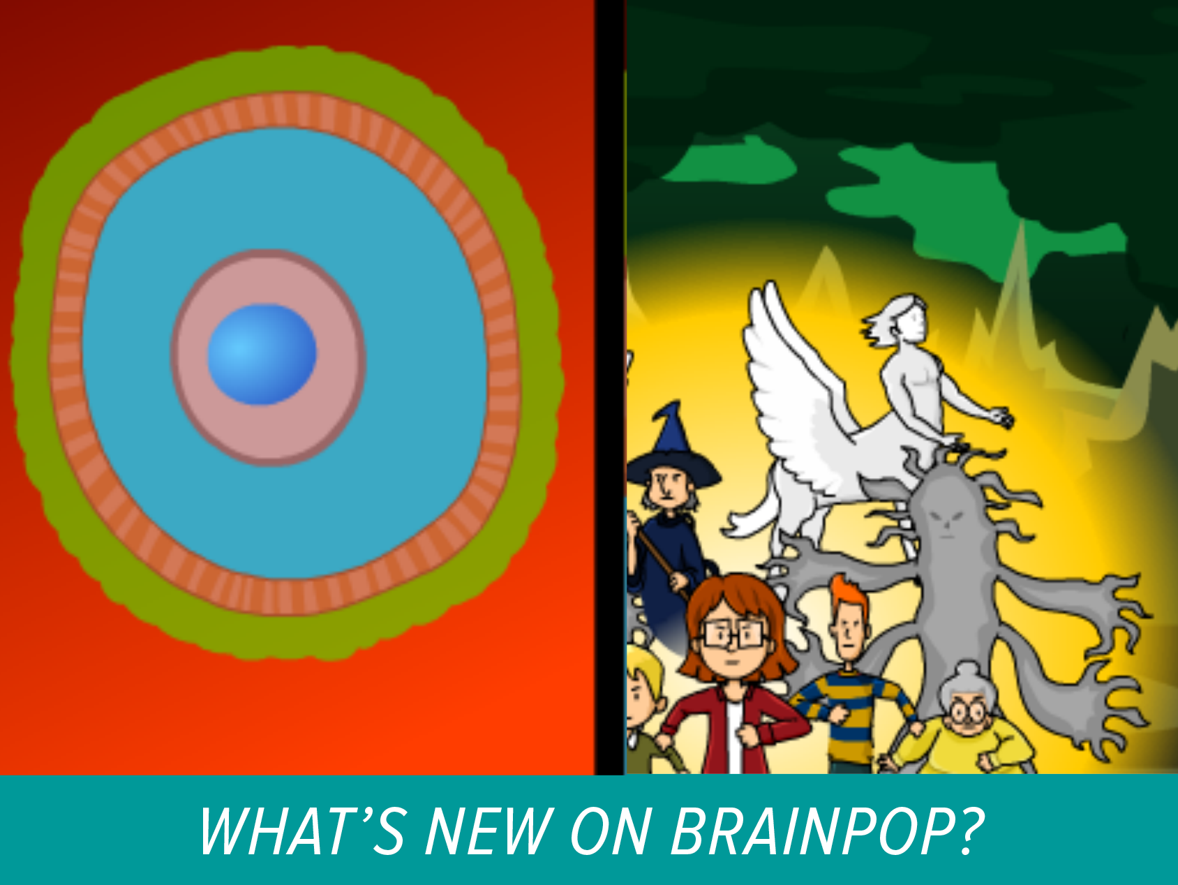 Two new movies now on BrainPOP