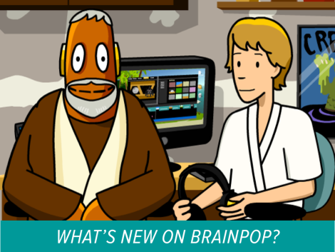 Préférence New on BrainPOP, Theme, Star Wars and the Force! | BrainPOP Educators QG23