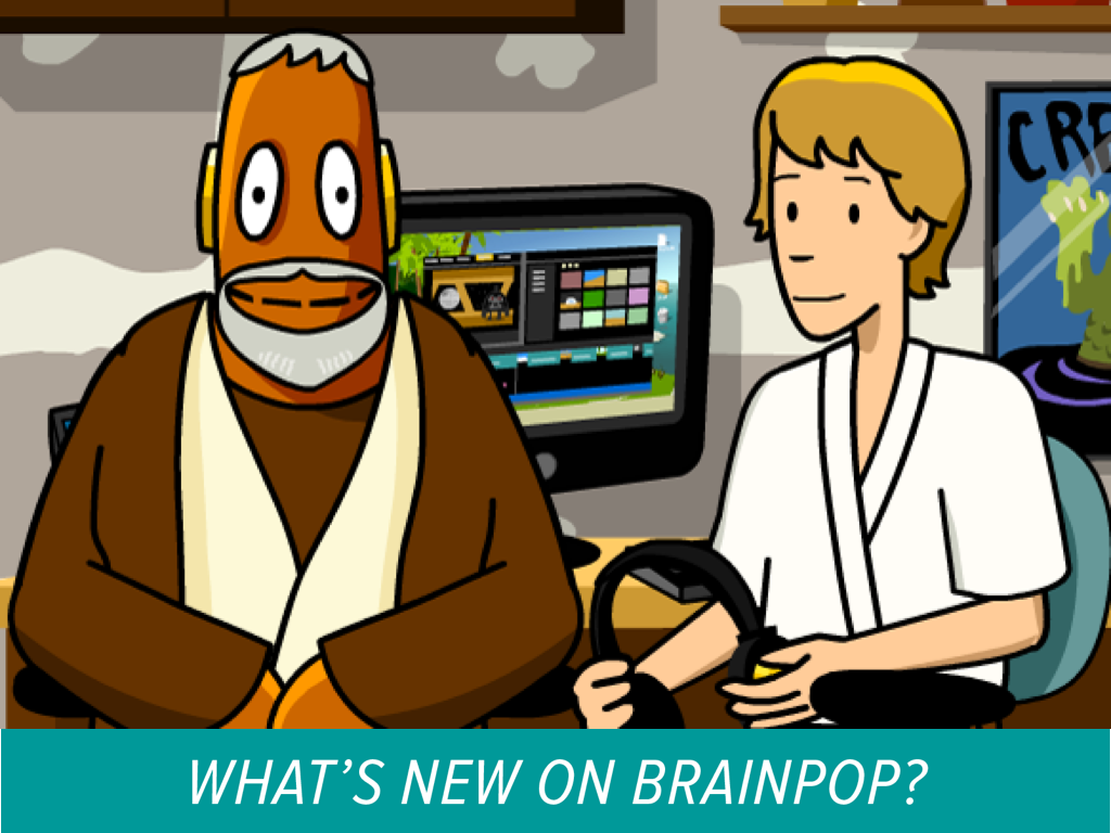 New on BrainPOP, Theme, Star Wars and the Force!
