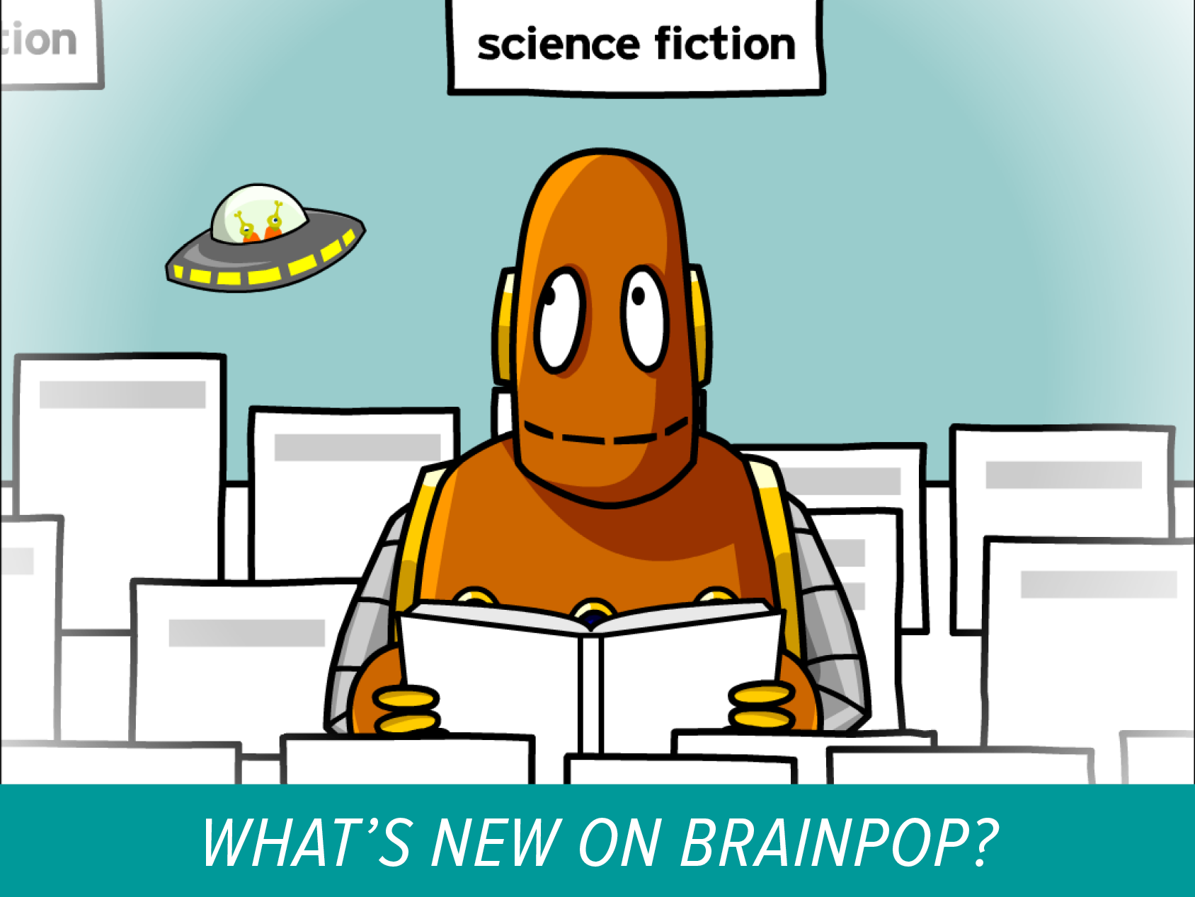 New Movie on BrainPOP – Literary Genres