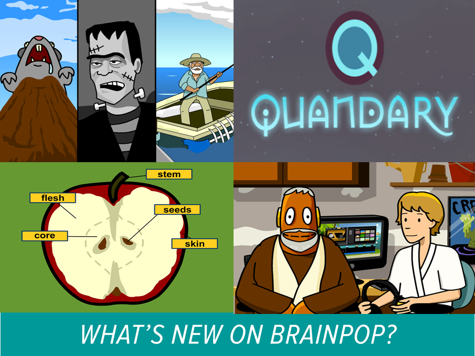 Check Out BrainPOP's Latest and Greatest for February