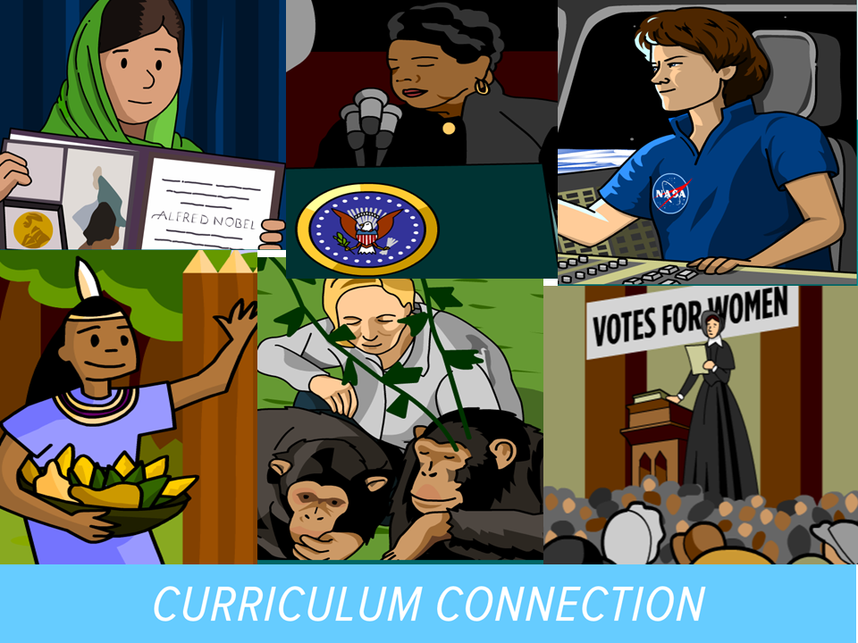 Celebrate Women's History Month BrainPOP Style!