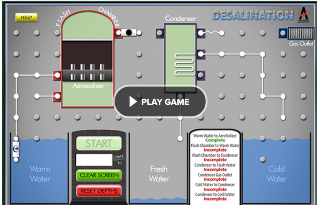 Desalination game