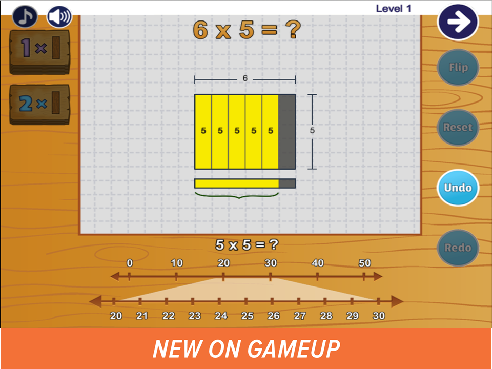 New on GameUp: Teachley Mt. Multiplis