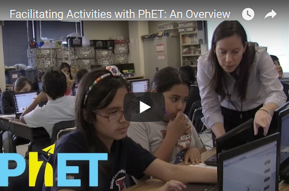 Facilitating Activities with PhET