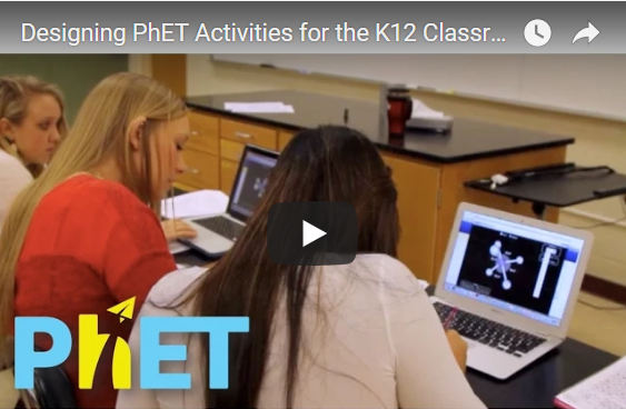 Designing PhET Activities for the K12 Classroom