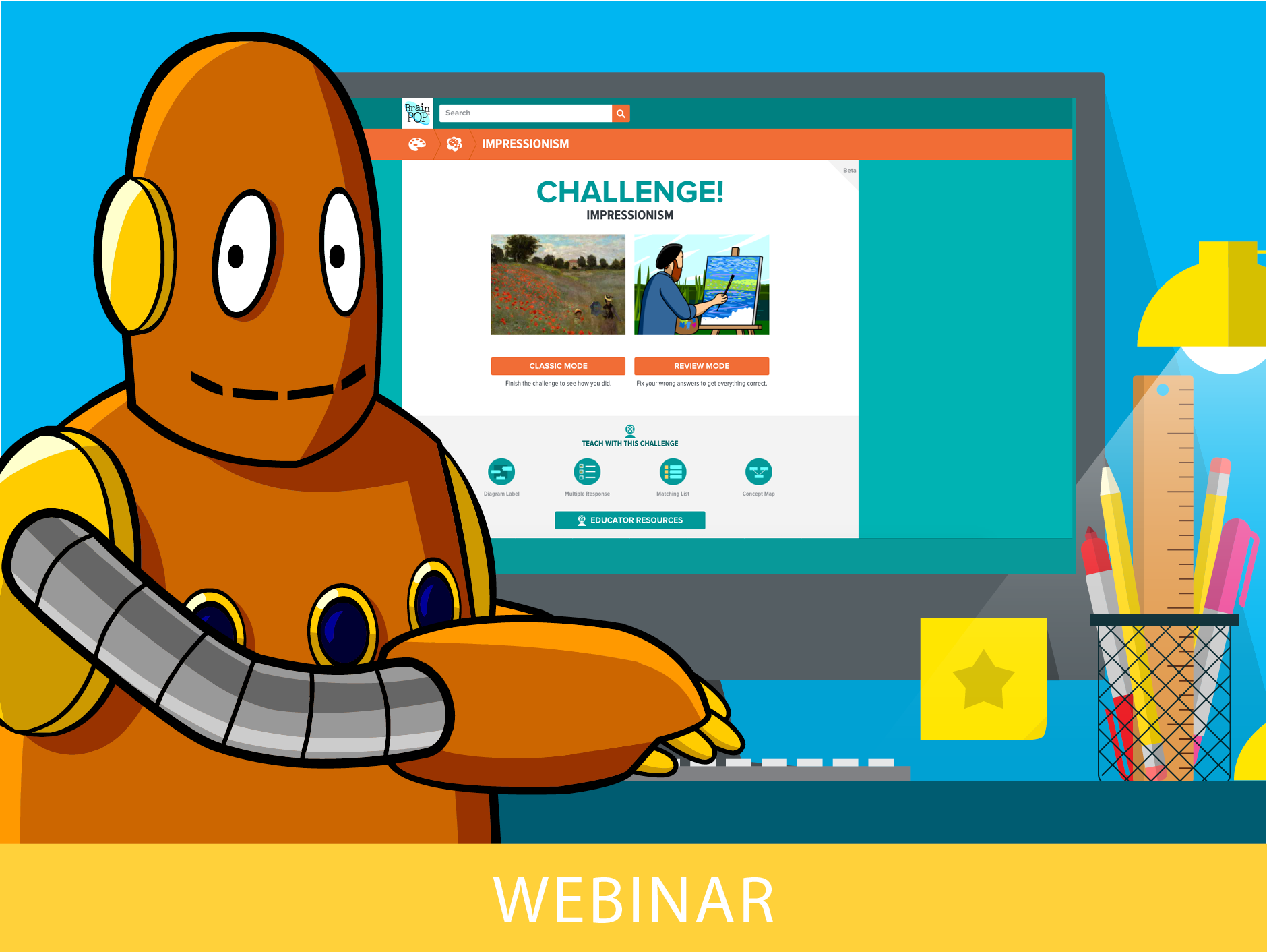 BrainPOP Presents Our Newest Feature: The Challenge