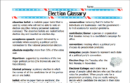 Election Glossary