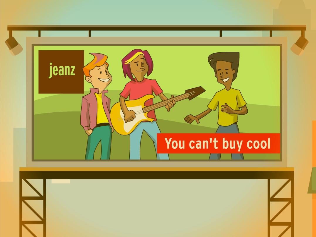 you can;'t buy cool!