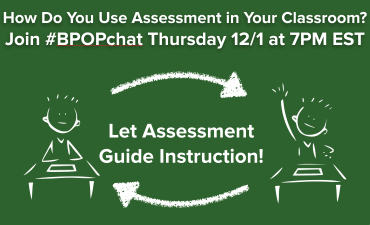 #BPOPchat: Instruction Guided by Assessment