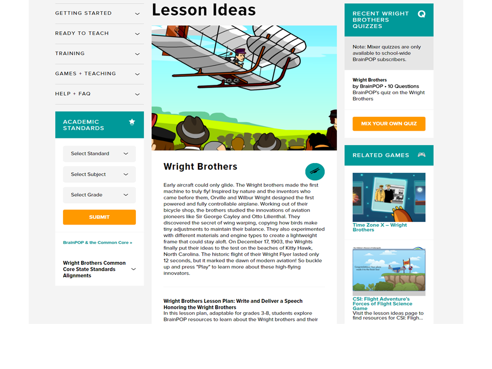 Looking for Lesson Ideas? We've Got Your Back!