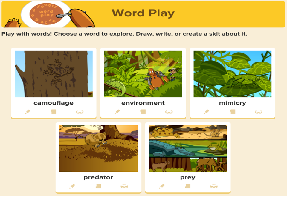 Explore Word Play on BrainPOP Jr.