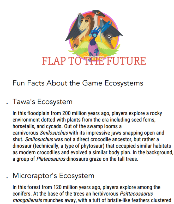Flap to the Future: Fun Facts about the Game Ecosystems