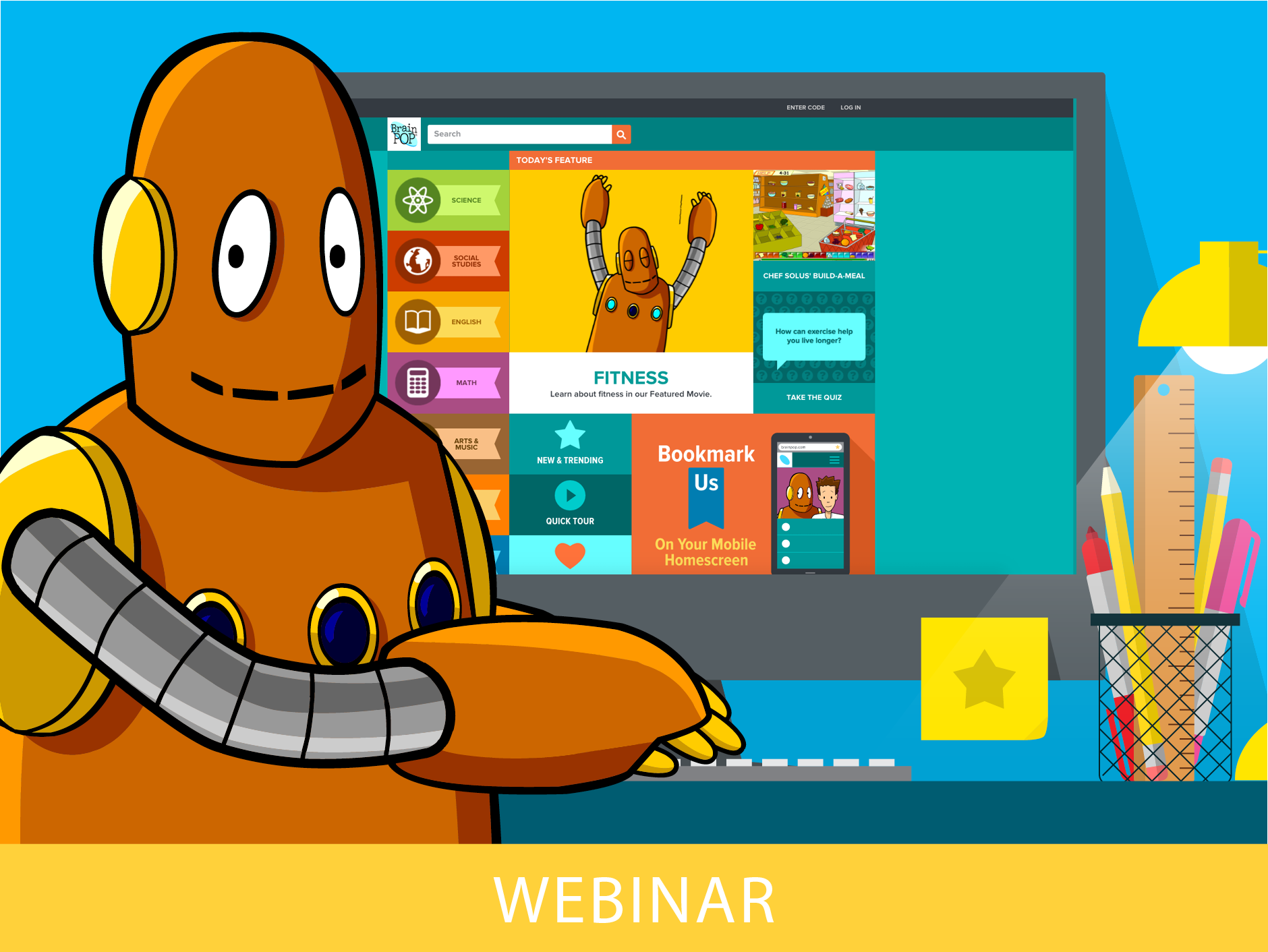 Explain, Play, and Create with BrainPOP and BrainPOP Jr.