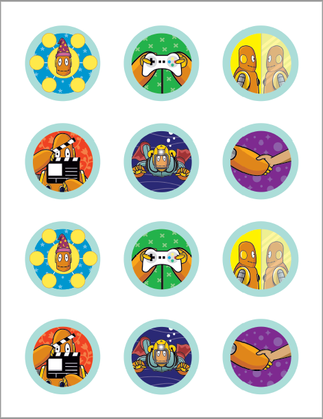 Moby Stickers