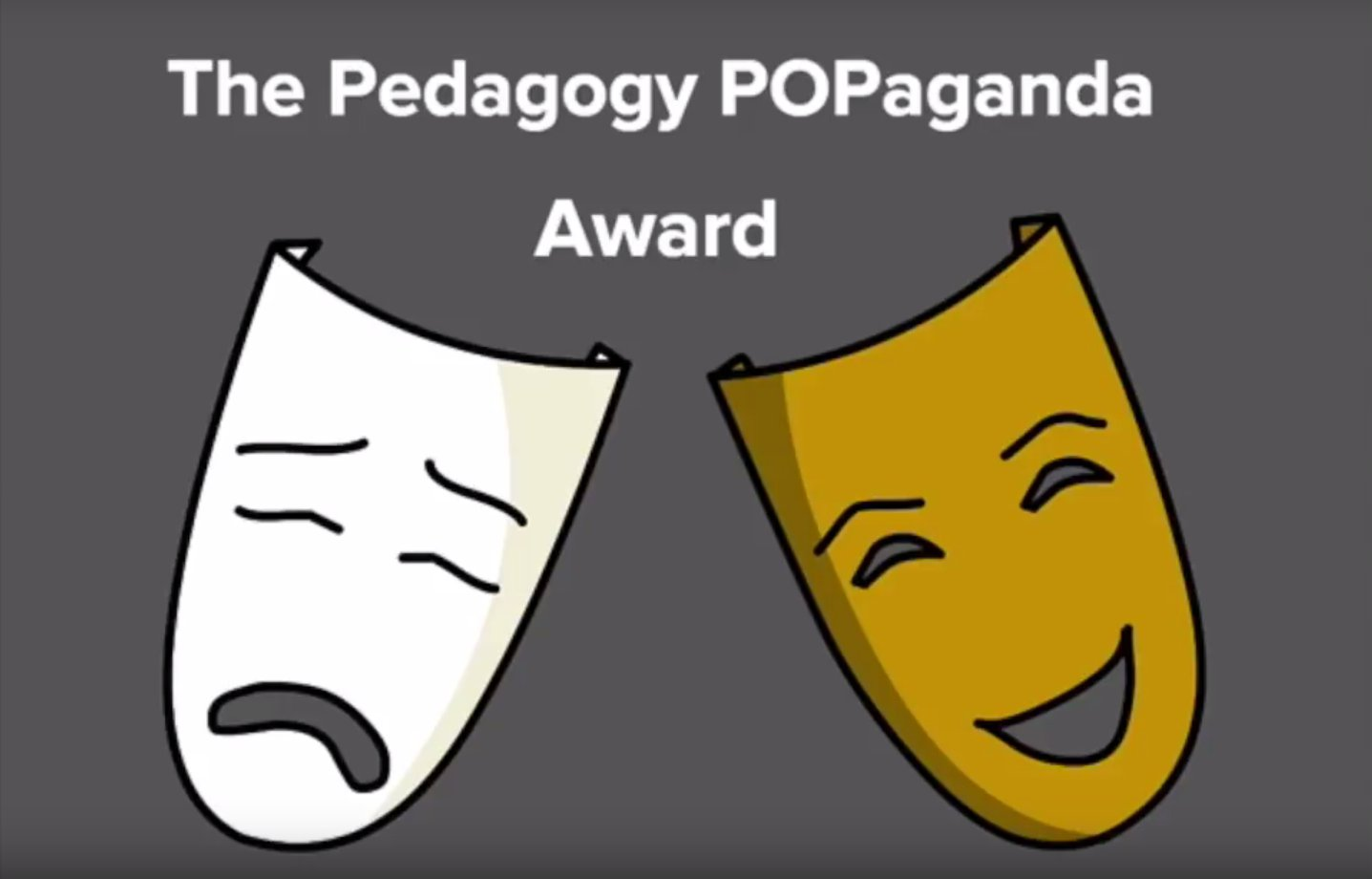 The Pedagogy POPaganda Award ISTE 2017