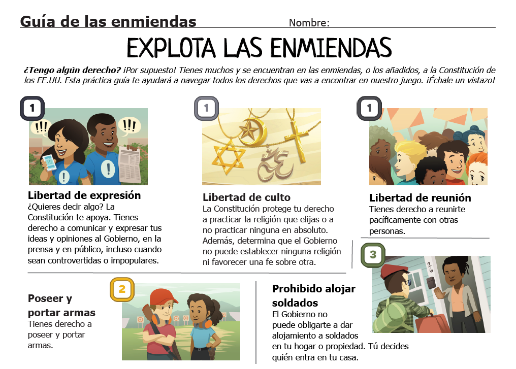 Amendment Guide (Spanish version)
