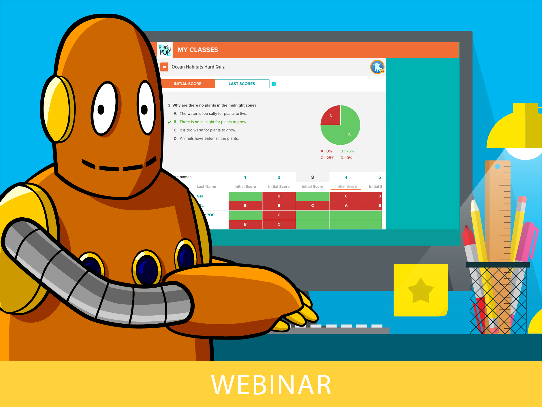 BrainPOP Tools for Teachers