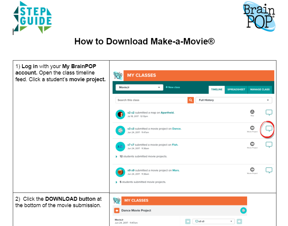 How to Download Make-a-Movie Step Guide®