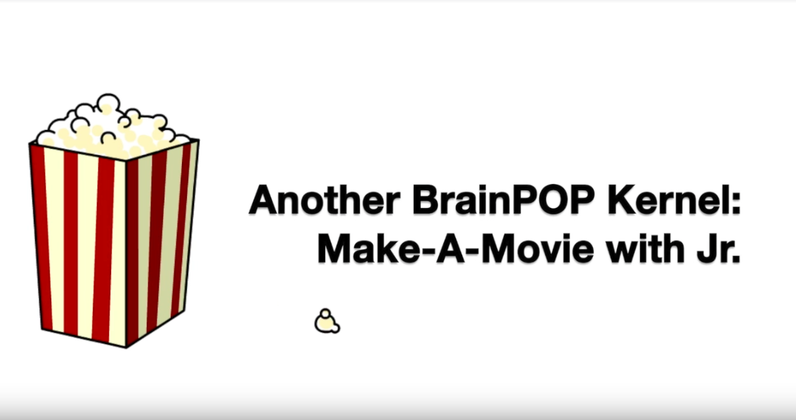 Assign Make-a-Movie on BrainPOP Jr.