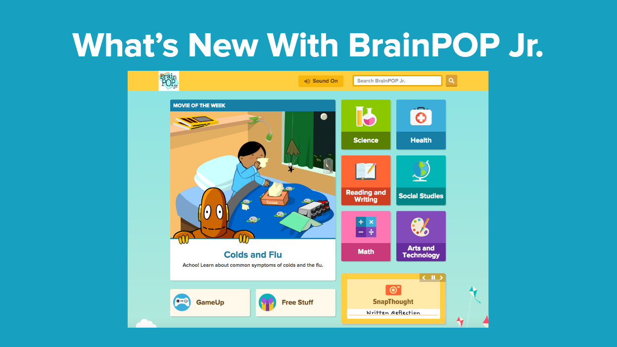 BrainPOP Jr. Training Slides
