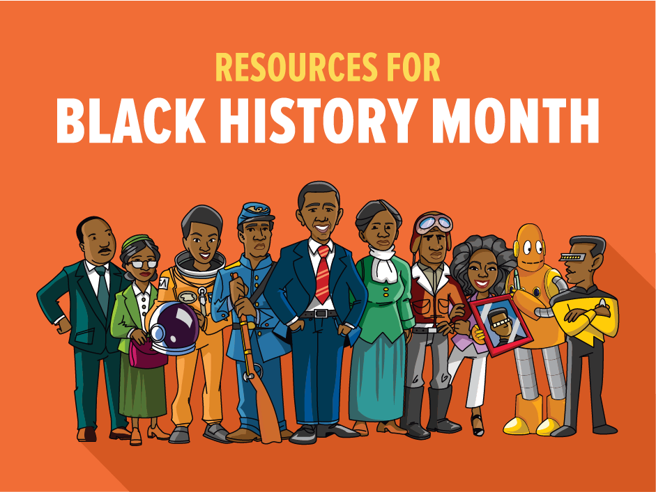 Celebrating Black History with BrainPOP and BrainPOP Jr.