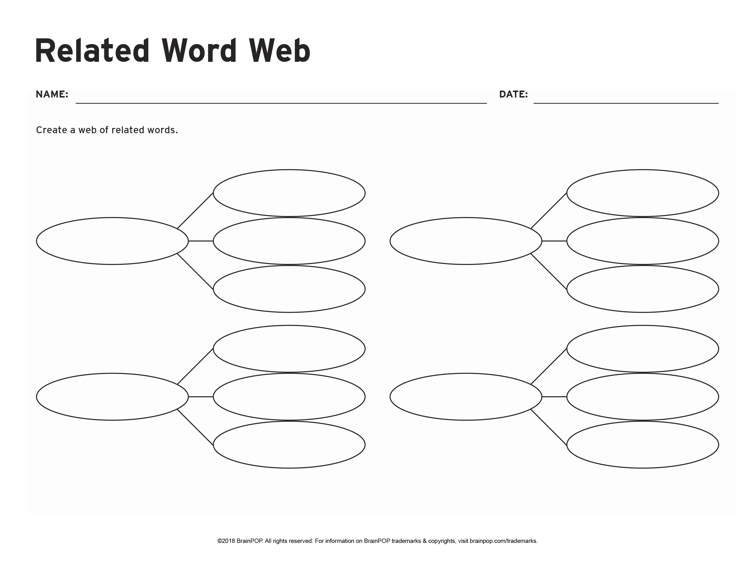 Related Word Web
