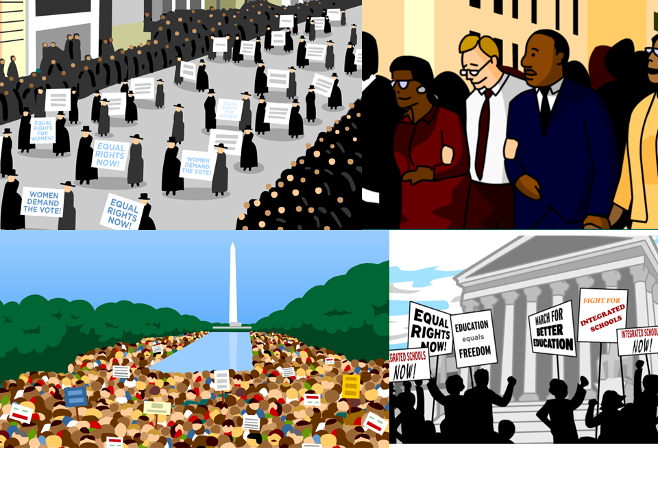 Exploring Peaceful Protests with BrainPOP