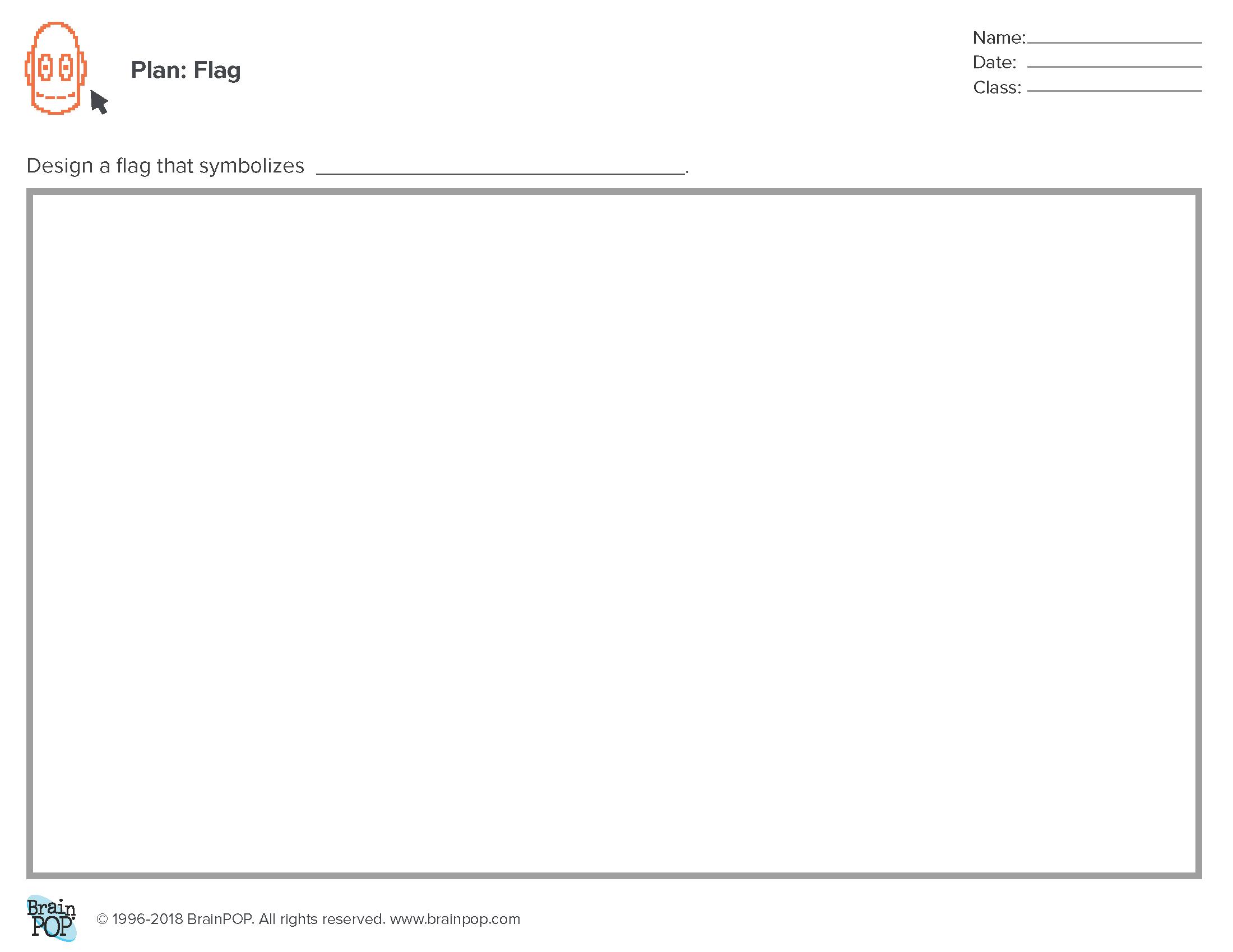 Planning Sheet: Flag
