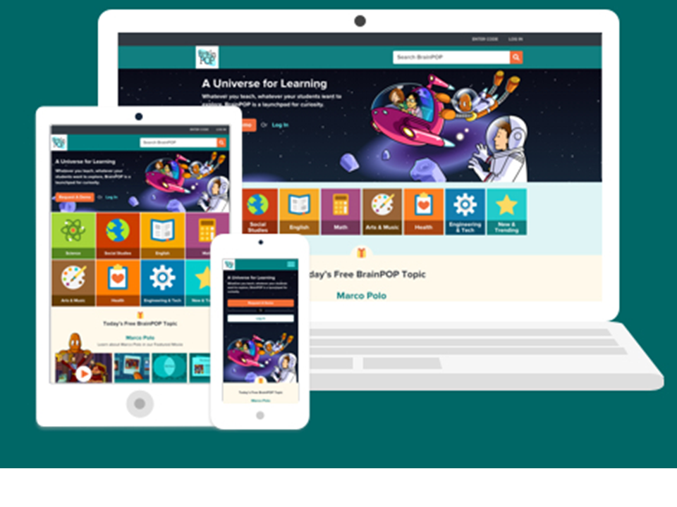 A New Out-Of-This-World Look for BrainPOP