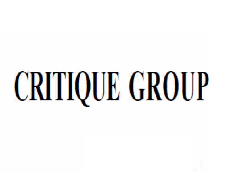 Critique Group Strategy