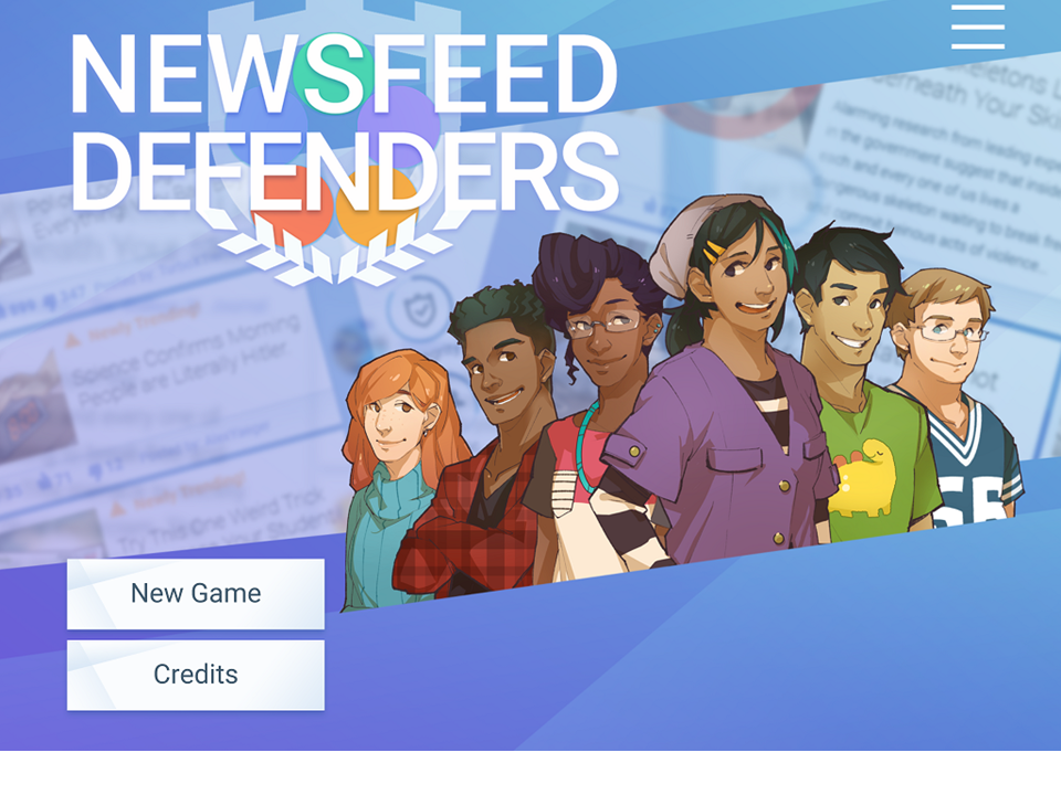 New on GameUp: Newsfeed Defenders
