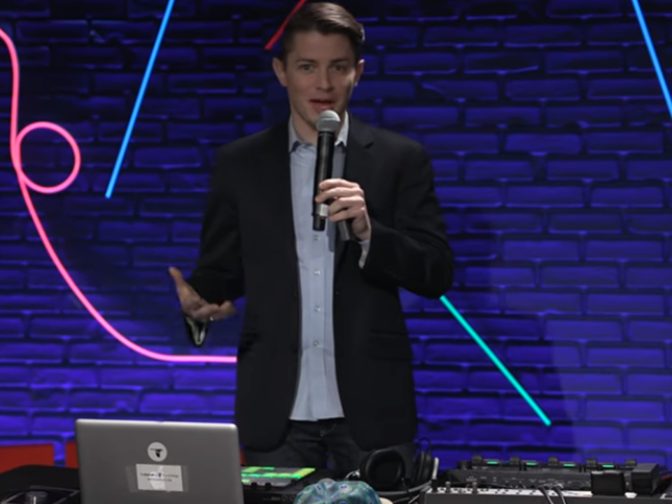 TED talk: DJing to the sounds of nature | Ben Mirin