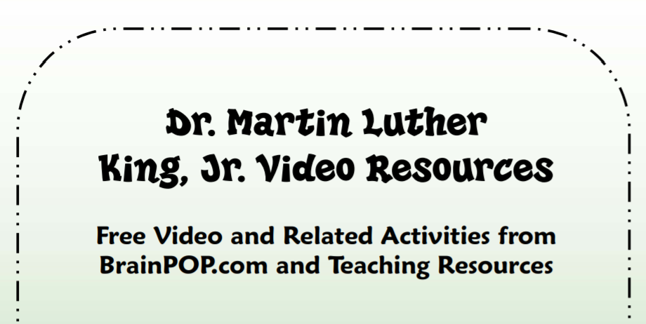MLK, Jr. Teaching Strategies & Printables
