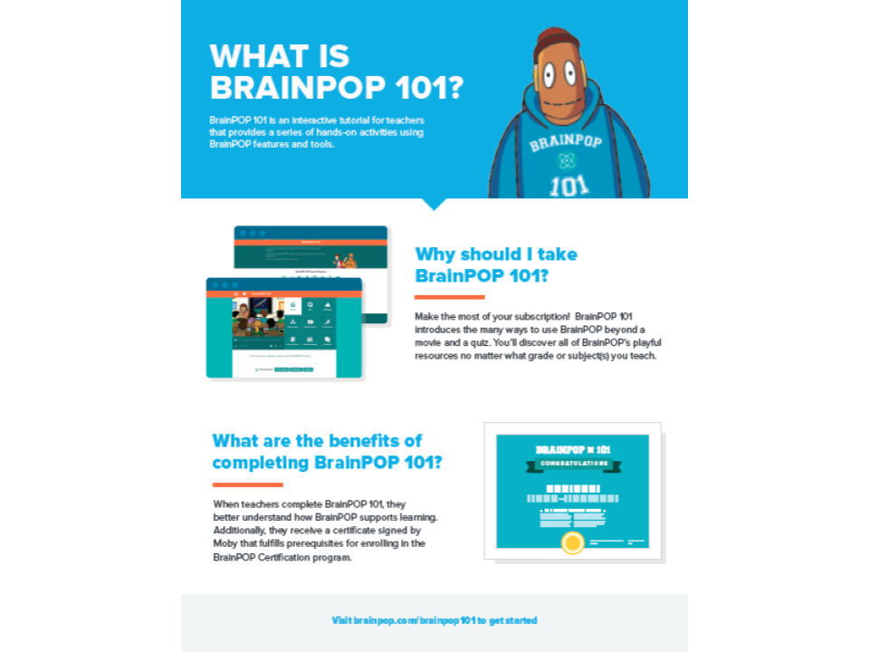BrainPOP 101 Overview