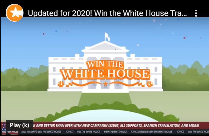 Win the White House 2020 Game Trailer (English version)