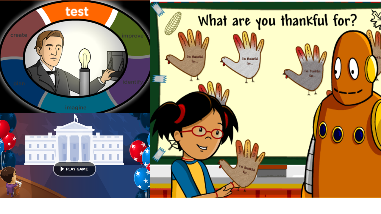 What's New at BrainPOP: November Recap