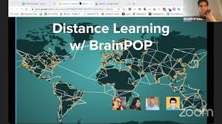 Distance Learning With BrainPOP