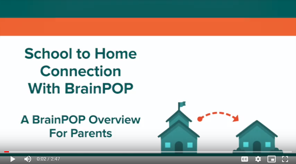Supporting Learning at Home with BrainPOP