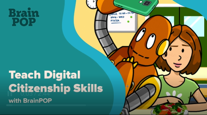 How to Teach Digital Citizenship Skills with BrainPOP